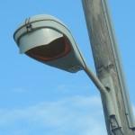 HPS Flat Lens Roadway w/ Shield