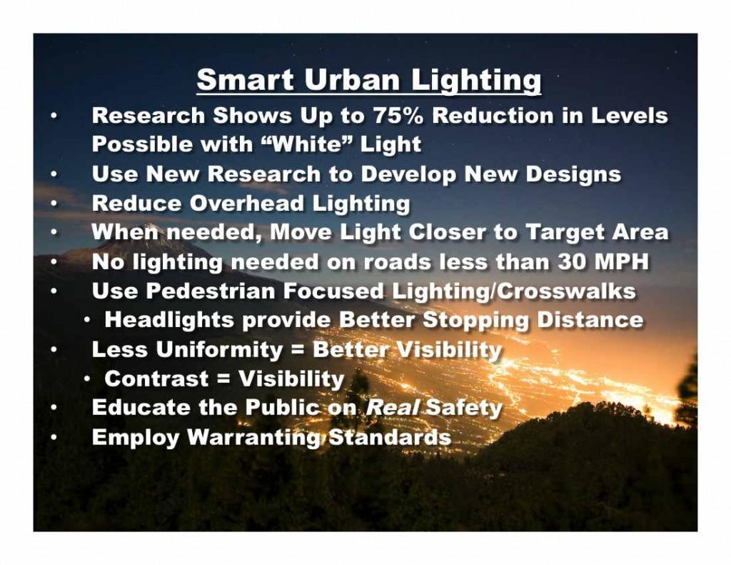 Smart Urban Lighting